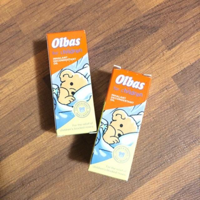 Tinh dầu trị nghẹt mũi Olbas