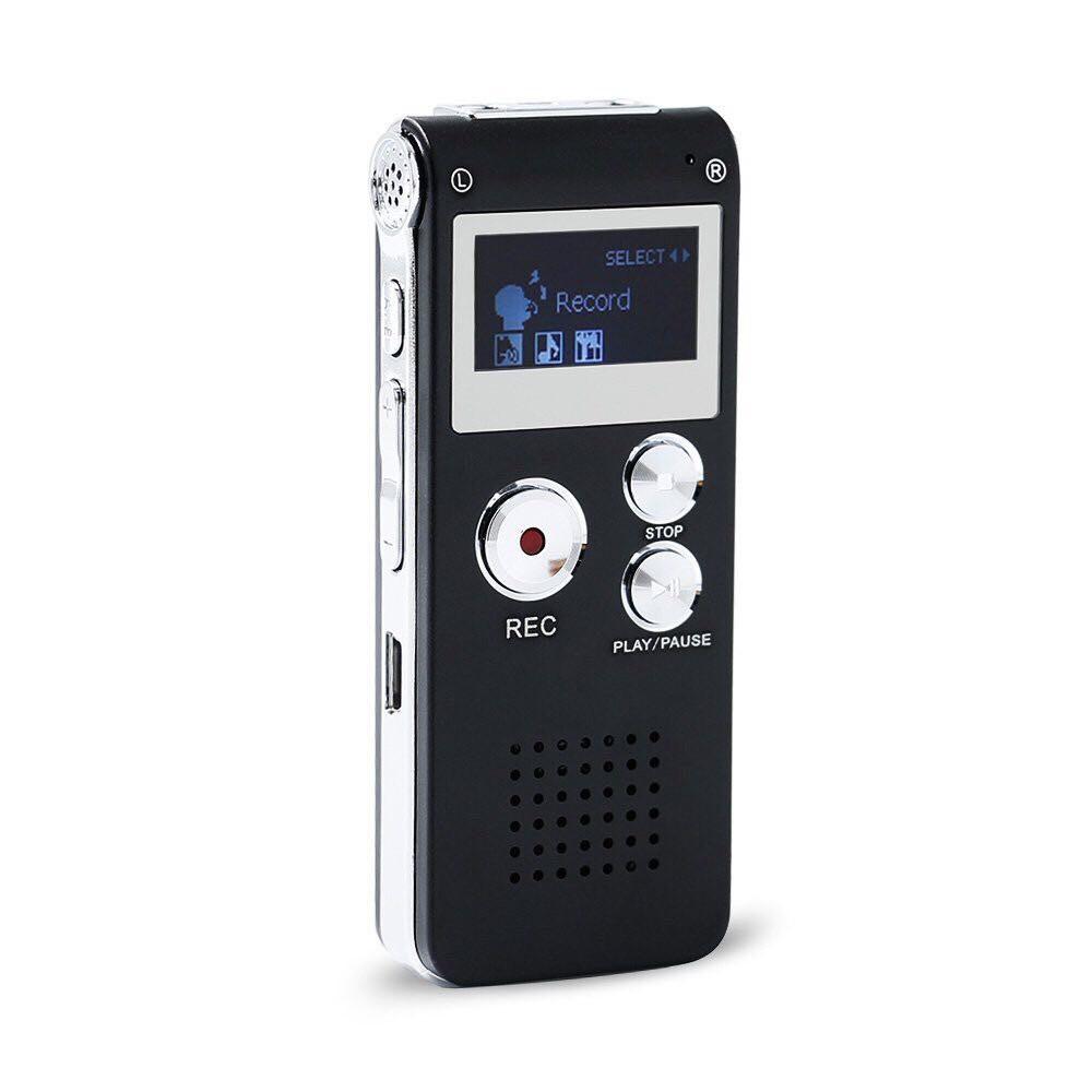[Mã ELFLASH11 hoàn xu 10K đơn 20K] Máy ghi âm 8GB Mini USB 650Hr 3D tiện dụng