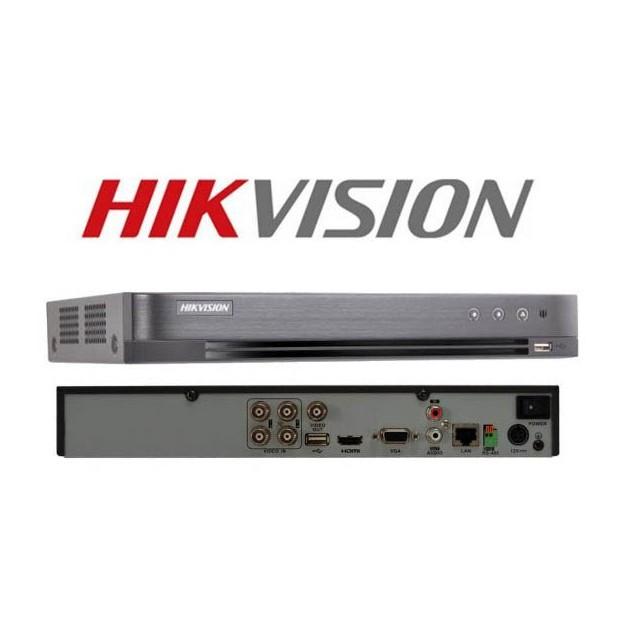 Đầu ghi hình Hybrid TVI-IP 4 kênh TURBO 4.0 HIKVISION DS-7204HQHI-K1(S)