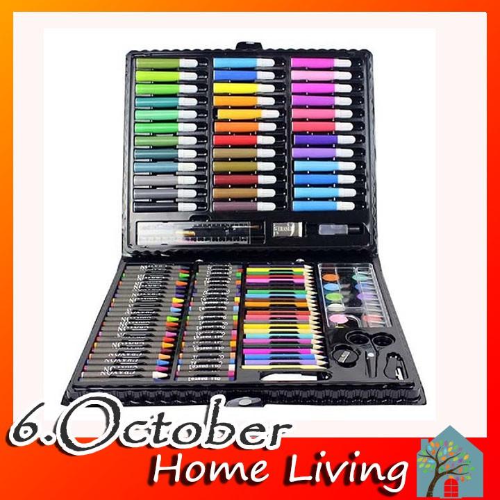 Bộ hộp bút chì màu 150 chi tiết nhiều màu sắc