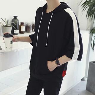 Hàn Quốc phiên bản của xu hướng của mùa hè thường sinh viên đẹp trai Wei quần áo