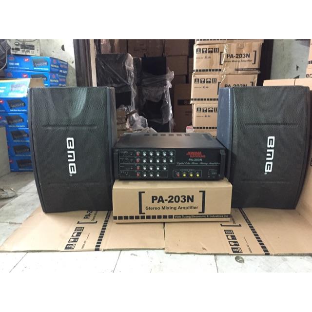 Trọn bộ dàn Karaoke gia đình PA 203N và loa BMB 450 (bát 25 ) hát cực hay