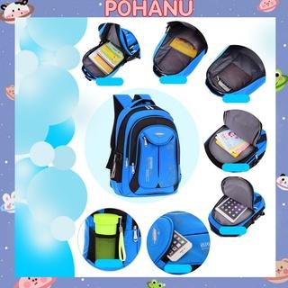 Balo học sinh Pohanu cặp đựng laptop chống chấm tản nhiệt học sinh cao cấp BL10 thumbnail