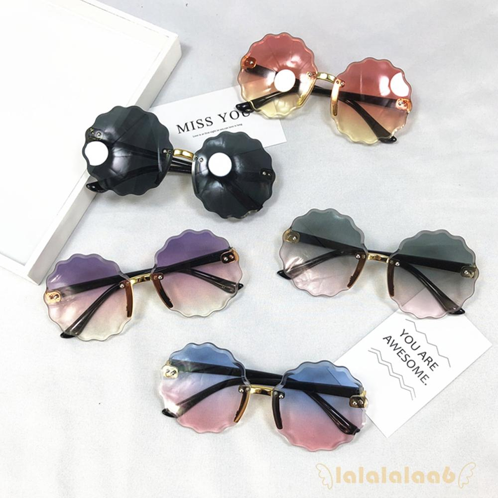 ◕ω◕Cute Summer Kids Gradient Plastic Frame Flower Goggles Eyeglasses
