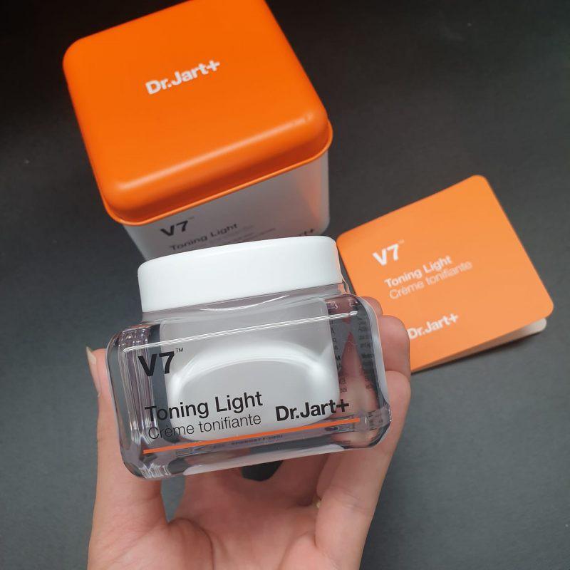 [Chính Hãng Hàn Quốc] Kem dưỡng trắng da - Kem dưỡng da chuyên sâu và trị thâm nám V7 Toning Dr.jart + 50ml