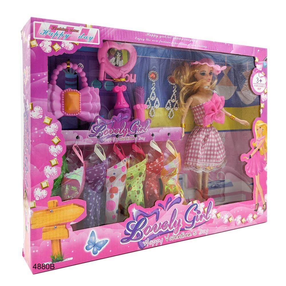 SHOP 12 ) ( Hàng sẵn ) Búp bê Barbie 𝐅𝐑𝐄𝐄 𝐒𝐇𝐈𝐏 thời trang Aibier và  bộ phụ kiện, váy đầm MM222 giá cạnh tranh
