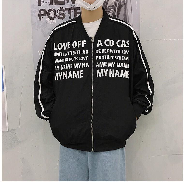 Áo khoác LOVE OFF form lớn dành cho người 65kg - 75kg C046 NVPRO
