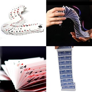 [BEW] Connection By Invisible Thread Prank Trick Prop Poker Acrobatics Waterfall Card [OL]