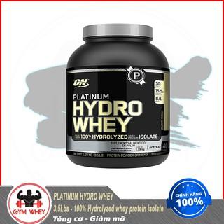 Thực Phẩm Bổ Sung Tăng Cơ Bắp Optimum Nutrition Platinum Hydro Whey 3.5lb (1.58kgs) 40 Lần Dùng Từ Mỹ thumbnail