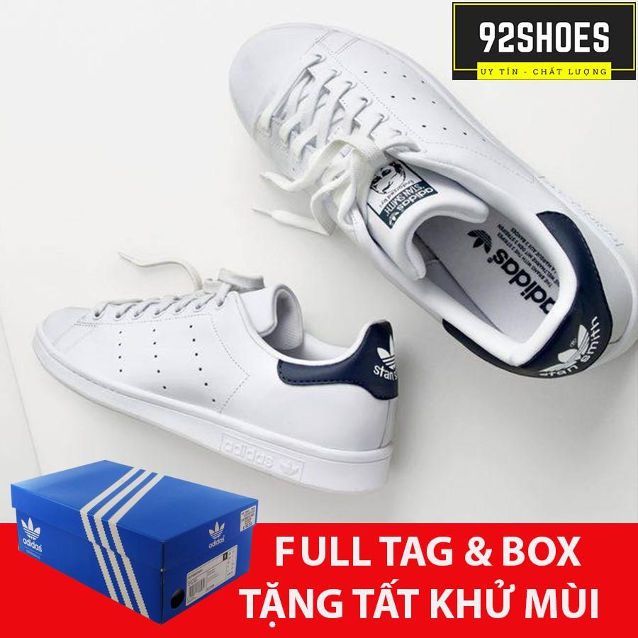 [ Hàng siêu cấp Sale] Giày thể thao stan smith gót đen ( hàng xịn )