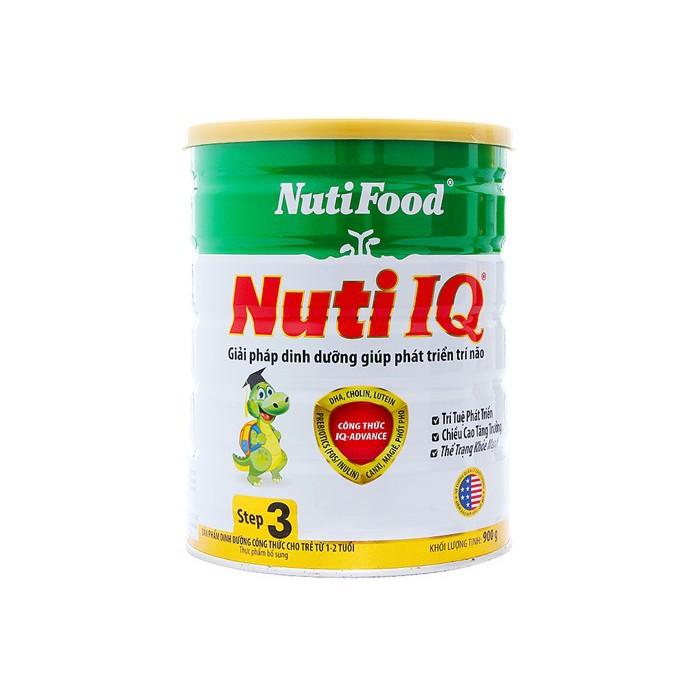 combo 2 Sữa bột Nuti IQ 3 900g (1 - 2 tuổi) 5 sữa tắm