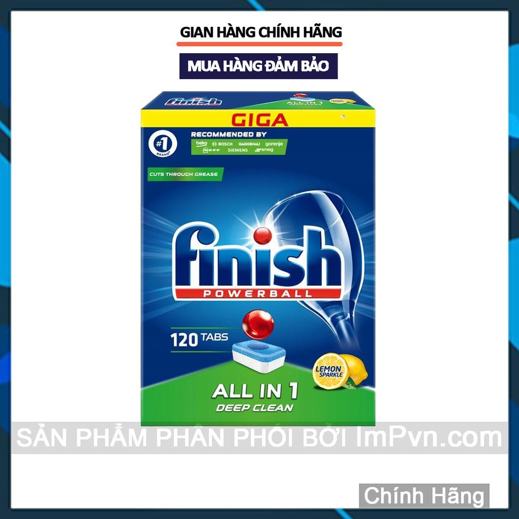 Viên rửa bát Finish All in One dành cho máy rửa chén bát