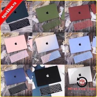 [Combo 2in1] Combo Ốp Và Phủ Phím Macbook Air 13″ 2020, Macbook Pro 13″ 2020