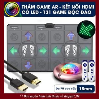 Thảm chơi game, thảm nhảy cao cấp có tiếng Anh, kết nối HDMI, có LED, có camera AR với đầy đủ tính năng (full option)