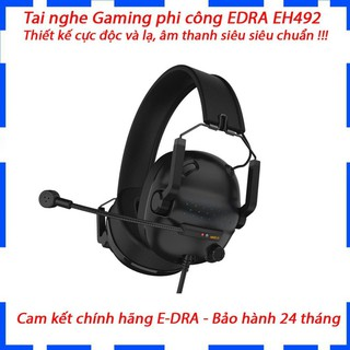 Tai nghe chụp tai Gaming Phi Công E-DRA EH492/Thiết kế độc và lạ/Siêu phẩm năm 2020/Chất âm ngon /Bảo hành 2 năm