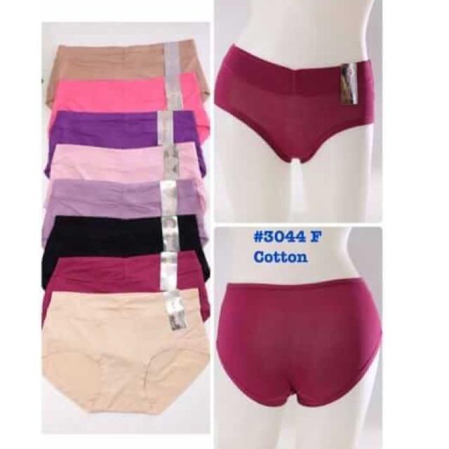 Combo 10 quần lót nữ cotton Thái lan 3044, quần mặc trong váy | SaleOff247