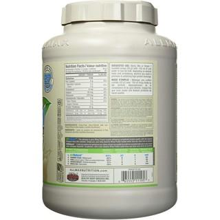 Whey Protein Isolate nguyên bản Không hương vị ALLMAX Nutrition 2.25 kg