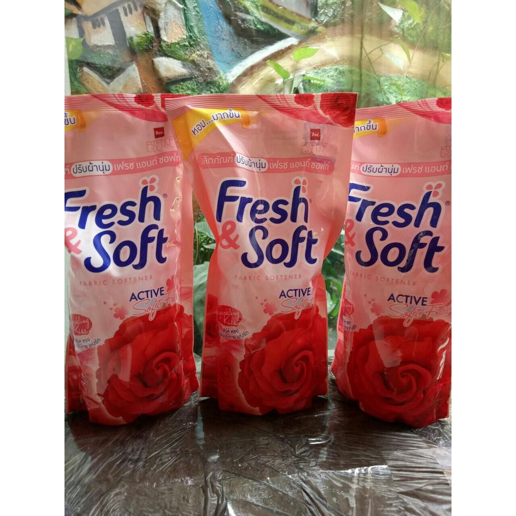 Nước xả vải fresh soft (essen)600ml Thái Lan