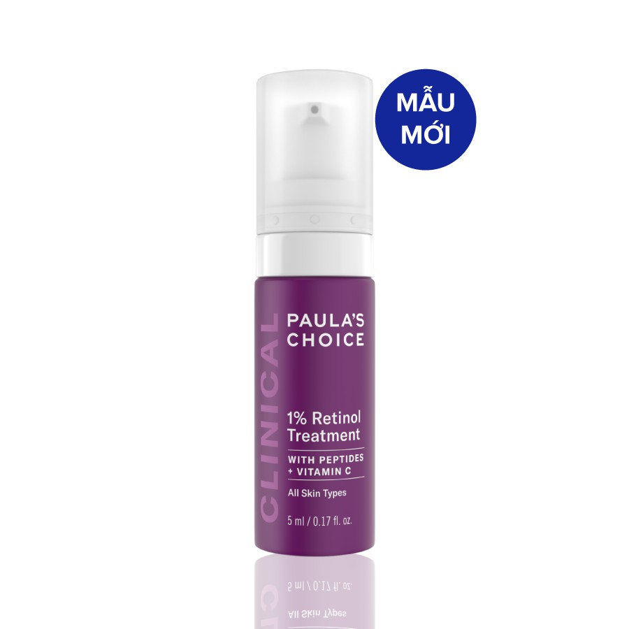 Tinh chất chống nám và nếp nhăn độc đáo Paula's Choice Clinical 1% Retinol Treatment 5ml 8017