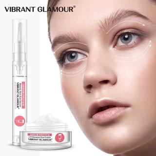 Bộ Serum Protein Dưỡng Mắt Bộ Kem Dưỡng Vibrant Glamour Da Chống Nếp Nhăn Xóa Thâm Quầng Bọng Mắt (Kem dưỡng mắt 20g +Huyết thanh mắt15ml) 2