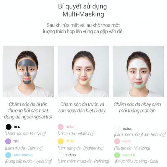 Mặt nạ rửa đất sét innisfree Volcanic Color Clay Mask 70ml