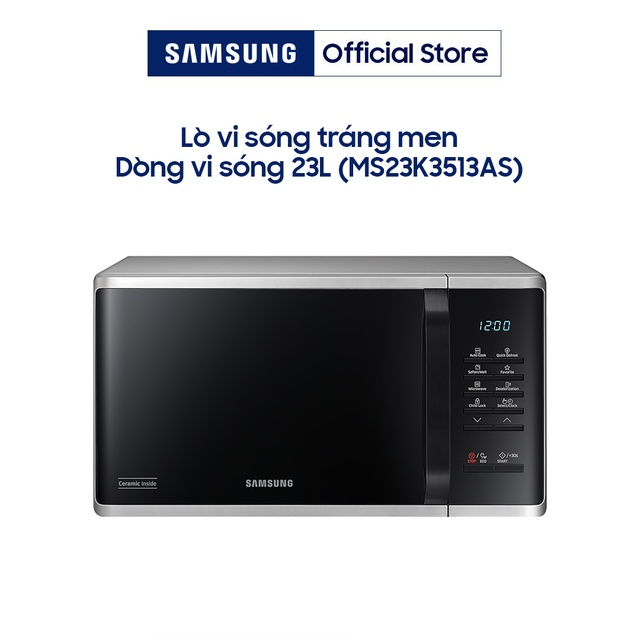 Lò vi sóng Samsung MS23K3513AS 23L 800W