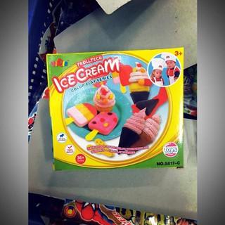 Đồ chơi trẻ em – đất nặn làm kem