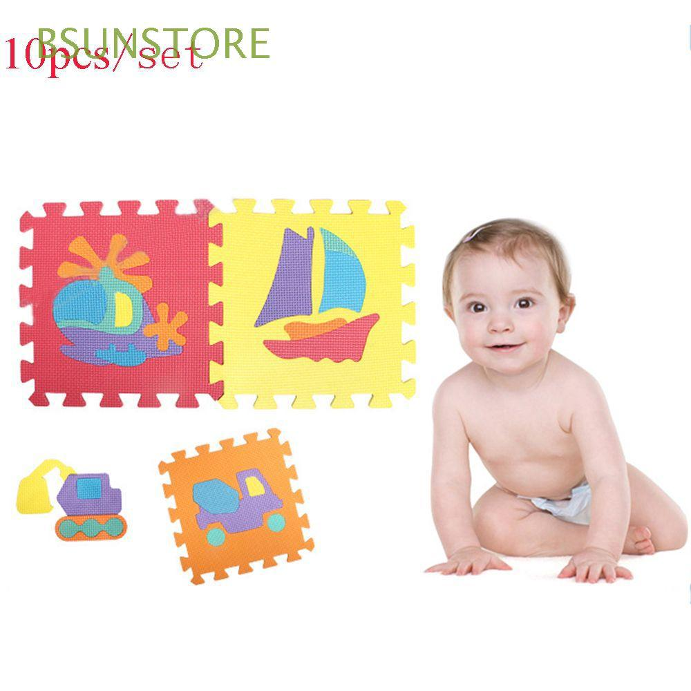 10pcs/set Many Design Baby Play Colorful Jigsaw Educational Puzzle Carpet