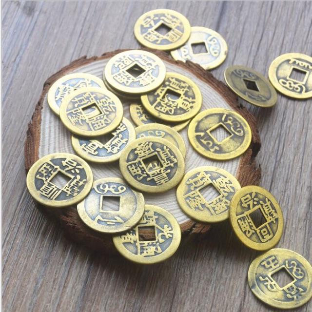 Đồng tiền xu âm dương kích tài vận   Shopee Việt Nam