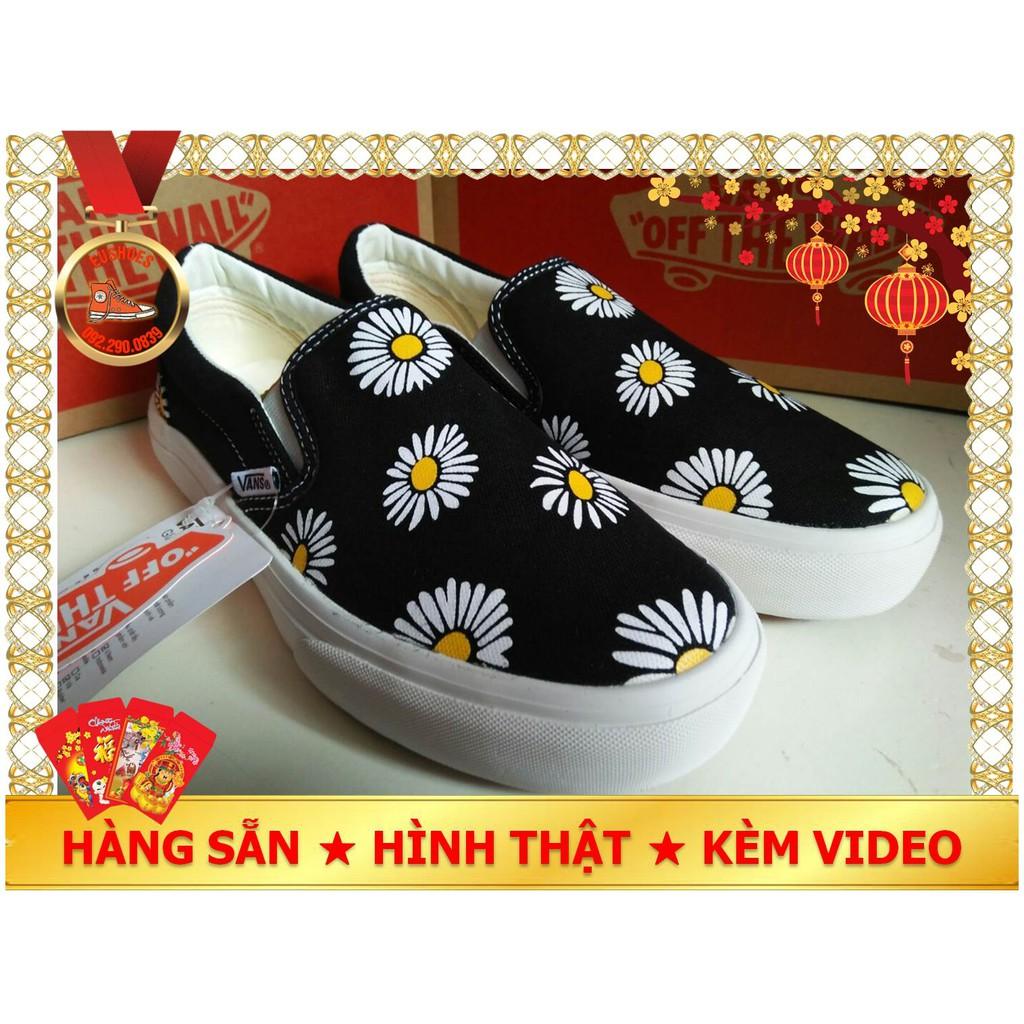 Giày Vans lười hoa cúc