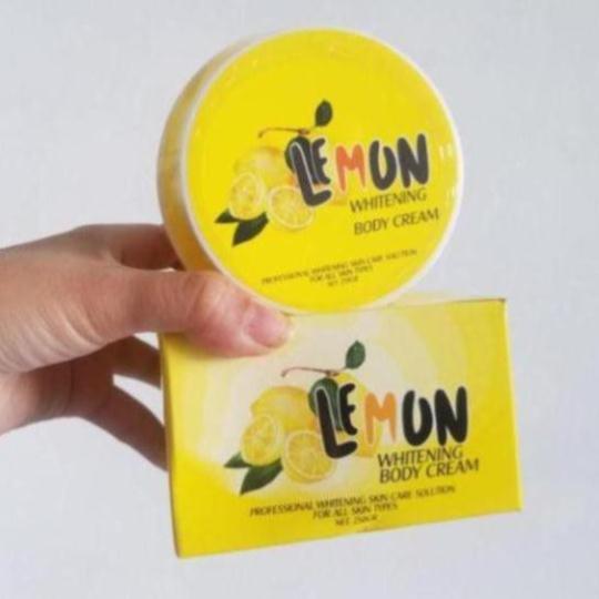 Kem Kích Trắng Body Lemon