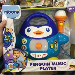 Đàn nhạc chim cánh cụt kèm mic Winfun(Quà tặng từ Moony)