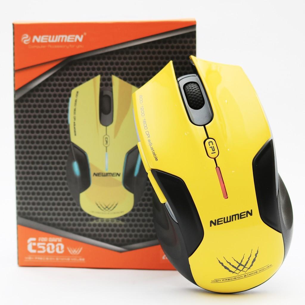 Chuột NEWMEN N500 PLUS USB Chính hãng chuyên game siêu bền bảo hành 12 tháng 1 đổi 1