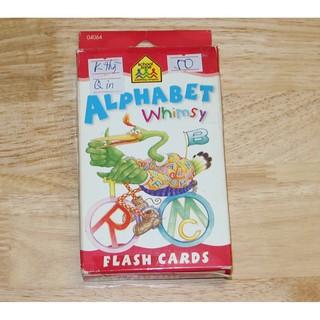 HÀNG CŨ – 90% Hộp flash cards Alphabet Whimsy