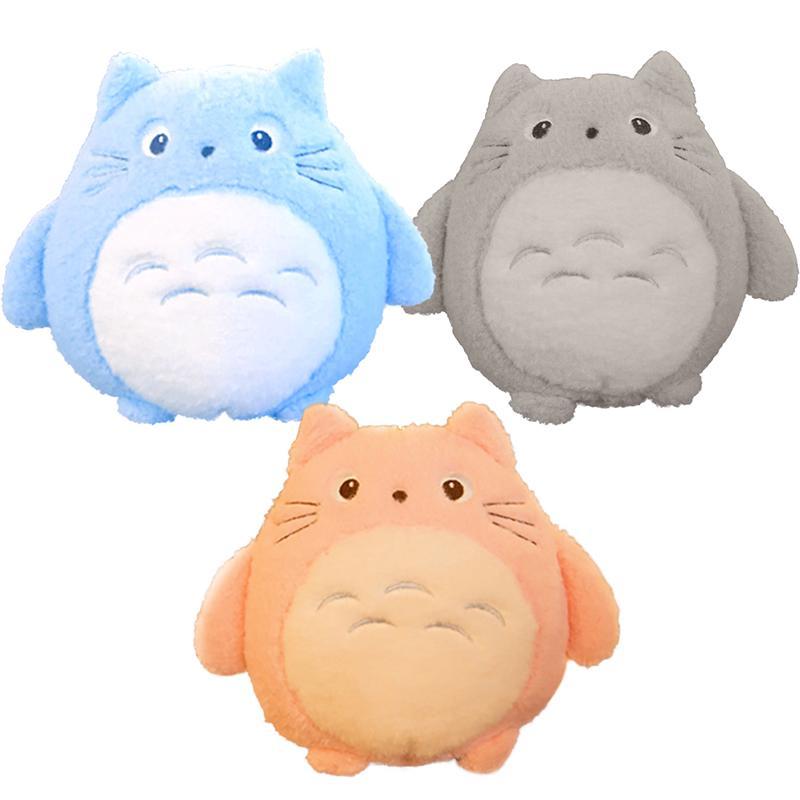 Totoro Plush Toys Soft Stuffed Animal Cartoon Pillow Cushion Cute Fat Cat