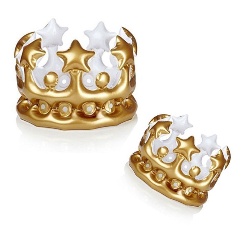 1pc Inflatable Crown Queen For Women Toy Novelty Party Favour Night Present Gift