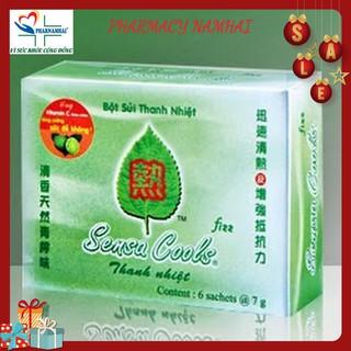 BỘT SỦI THANH NHIỆT SENSACOOL (Hộp 6 gói) thumbnail