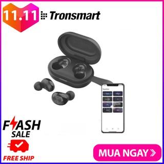 Tai Nghe Bluetooth Không Dây 5.0 TWS Tronsmart Spunky Beat (phiên bản ứng dụng) Chíp Qualcomm Aptx Khử Tiếng Ồn Cao Cấp