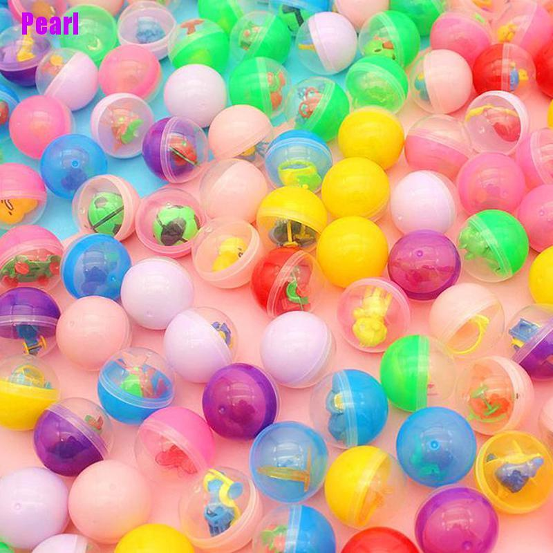 Set 10 quả bóng đồ chơi bằng nhựa nhiều màu sắc cho bé