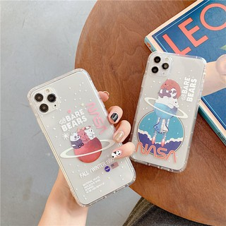 Trong suốt Tpu iphone 6 6s 7 8 plus X Xs XR 11 Pro Max trường hợp che