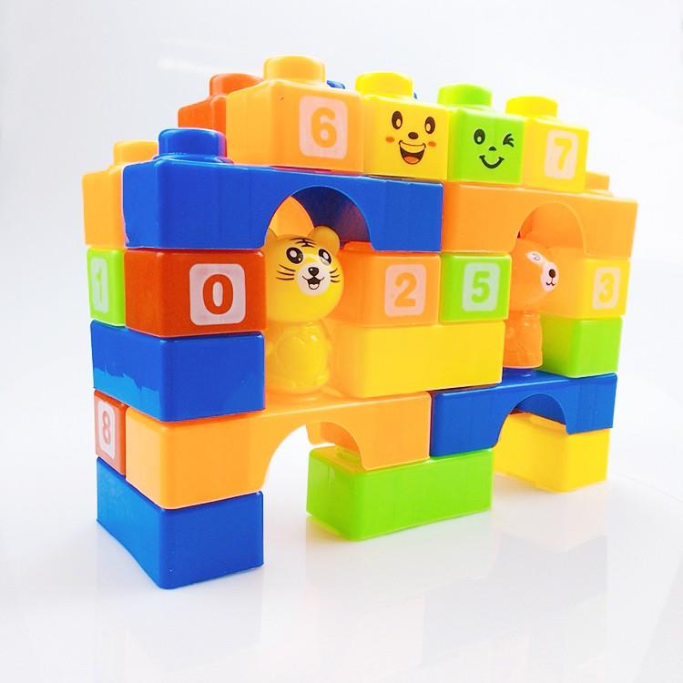 Đồ chơi lắp ráp, xếp hình 25 chi tiết cho bé, đồ chơi cao cấp cho bé thỏa sức sáng tạo