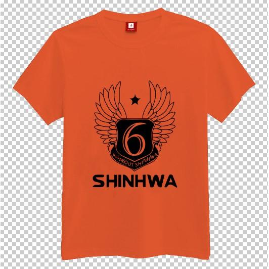 Áo thun nam nữ Kpop logo nhóm nhạc SHINHWA