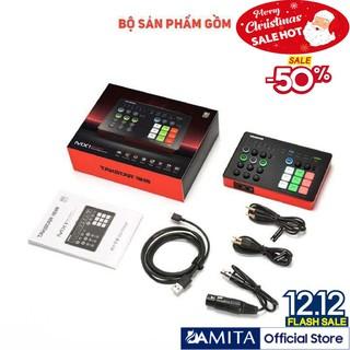 (FREESHIP)TẶNG CÁP IPHONE Combo mic thu âm TAKSTAR, Sourd card SC M1, micro PC K500, BẢO HÀNH 12 THÁNG