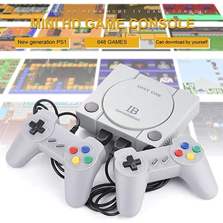Máy chơi game này thích hợp cho mọi tivi Máy Chơi Game 4 Nút GameStation 600 Trò 2 Tay Cầm Chơi Game HD thumbnail