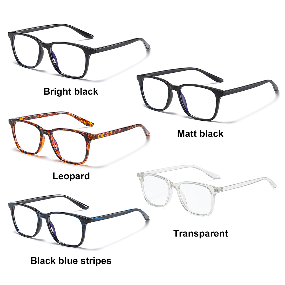 WONDERFUL Retro Frame Computer Glasses Lightweight Unisex Glasses Blue Light Blocking Vision Care Cut UV400 with Spring Hinges Nerd Reading...
