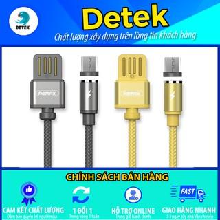 Cáp sạc Nam Châm Cổng Micro USB Remax RC-095m (Vàng/Xám)