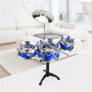 ☆VN Christmas Gift Drum Set Boys Girls Play Music Develop Intelligence Kids Toys