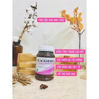 Tinh Dầu Hoa Anh Thảo Blackmore, vitamin đẹp da, cân bằng nội tiết tố – hộp 190 viên_ Gauheohouse