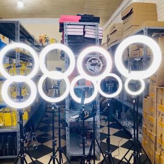 ( GIÁ GỐC ) Đèn Livestream Chụp Ảnh, Make Up, Đèn Livestream Bán Hàng + Kẹp đt + Chân 2m1 thumbnail