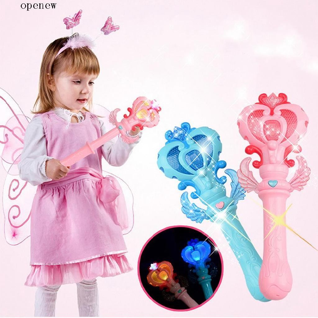 op Children Creative Lovely Cartoon Luminous Toy Gypsophila Flashing Stick